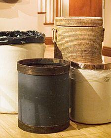 Wastebin alternatives. Think outside the bin!.. Errr box!