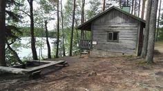 #sauna vanha hirsinen #sauna old #järvellä #lakeside