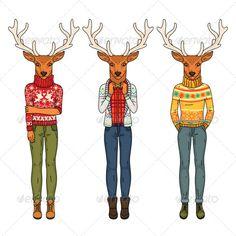 Fashion Deers