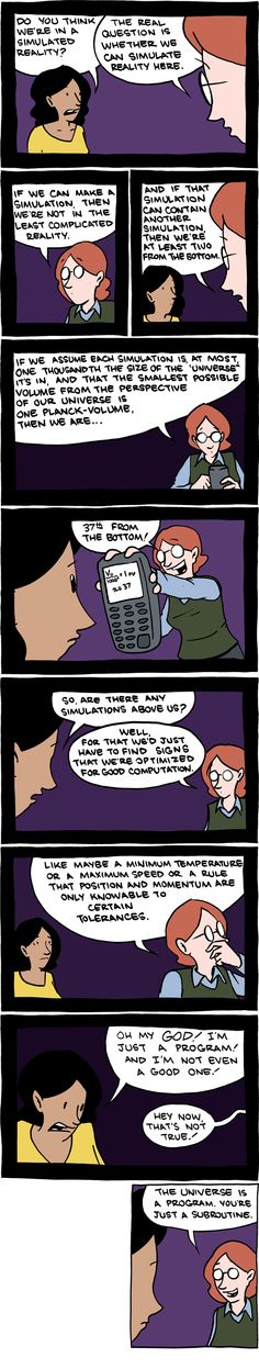 You're just a subroutine.