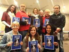 The crew (l-r), back: Zena Shapter, Mijmark, Kylie Pfeiffer, Tony McFadden, Liz Michell, Chris. Front: Kris Prescott, Madi Duncan, Leah Boonthanom