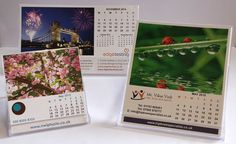 CD Desk Calendars for 2016. Supplied in a CD case for year round advertising. Great promotional gifts