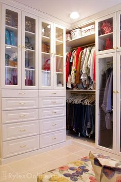 closets with glass doors - Google Search