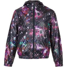 TOPMAN Multi Galactic Print Lightweight Jacket