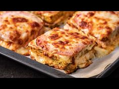 Cartofi cu sunca la cuptor - YouTube Romanian Food, Yummy Food, Yummy Recipes, Lasagna, Food And Drink, Make It Yourself, Cooking, Ethnic Recipes, Facebook