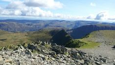 Walking on Helvellyn