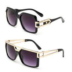0fb4d9ea536d Thick Frame Rapper 80 s 90 s Retro Hip Hop DJ Large Design Squared Clear  Lens Glasses