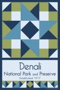 Denali National Park Quilt Block. This would make a cool quilt of all the places we've been