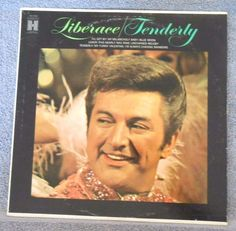 TENDERLY LP Album by Liberace - Vinyl 1984 Harmony/Capitol Records