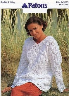 40 best wool plus images on pinterest knit stitches crochet patons pbnd 5255 ladies crochet sweater fandeluxe Image collections