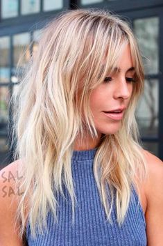 Amazing Hairstyles for Long Thin Hair (Must-See Haircuts for Fine Hair) 27 Amazing Long Hairstyles for fine thin hair with bangs and layers Haircut Diy, Long Shag Haircut, Shaggy Layered Haircut, Pixie Haircut, Haircut Bangs, Haircut Layers, Stylish Haircuts, Haircuts For Fine Hair, Cool Haircuts