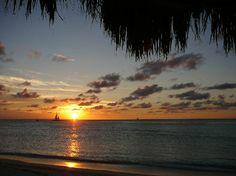 Holiday Inn Resort Aruba: amazing sunsets