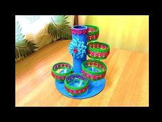 DIY - Cisne Reciclável (de embalagem ariel ) - YouTube