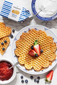 Vegan Recipes, Vegan Food, Waffles, Sweets, Bread, Breakfast, Gluten, Corner, Camping