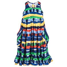 Stella McCartney Girls Colorful Sundress | New Collection