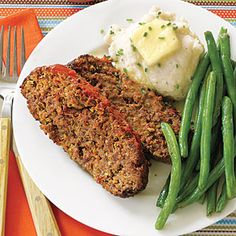 Meatloaf with Mozzarella, Mushrooms and Pepperoni | MyRecipes.com