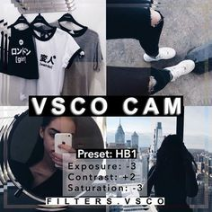 A darker filter that's good for theming. It looks good on all pics, especially ones with black and white elements in them. - Check out the… Vsco Photography, Photography Filters, Photography Editing, Fotografia Vsco, Vsco Effects, Best Vsco Filters, Vsco Themes, Photo Editing Vsco, Vsco Presets