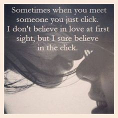 My best relationships came from 'the click'. God connects us to people both positive and negative... and we grow and grow and grow... Those beautiful people are our little award :) Makes me so happy ~Nik