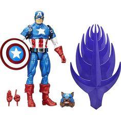 Boneco Avengers Legends - Capitão América - Hasbro