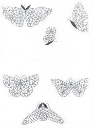 Bolillos, mariposas