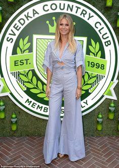78828e1cc32 Gwyneth Paltrow in Rosie Assoulin Retro Fashion