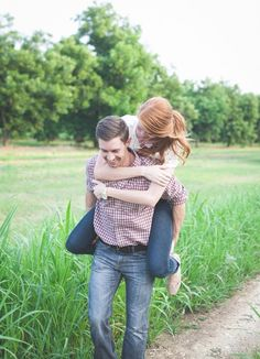 Nicely captured moment during a Central Texas engagement session at Royalty Pecan Farms | Emilie Anne Photography