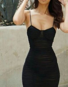 Super how to wear black dress clothes ideas Mode Outfits, Fashion Outfits, Womens Fashion, Fashion Trends, Fashion Tips, Fashion Hair, Fall Outfits, Pretty Dresses, Beautiful Dresses