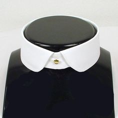 Eton detachable collar rounded point