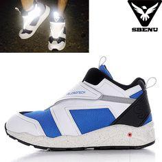 (SBENU) B(VT)-006 BL VELCRO TECH Men Women Sneaker Running Elevator Shoes AOA IU #SBENUhellobincom #RunningFashionSneakerShoes