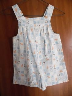 Romper Blue Puppy Dog Print Boys or Girls Romper 3-4 in Clothing, Shoes & Accessories, Baby & Toddler Clothing, Unisex Clothing (Newborn-5T), One-Pieces | eBay