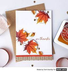 Give Thanks by Tami Hartley for Hero Arts