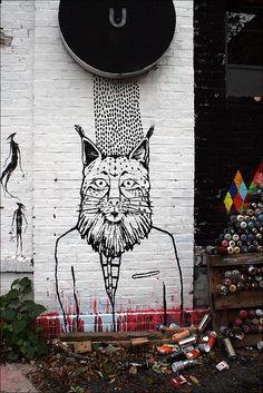 Street art Berlin, Germany>  Our tips for things to do in Berlin: http://www.europealacarte.co.uk/blog/2010/10/11/things-to-do-in-berlin/.