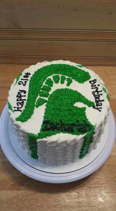 Michigan State Birthday Cake