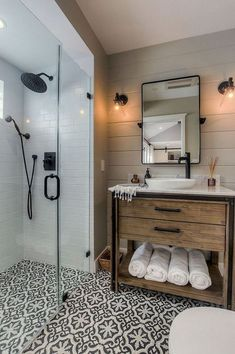Awesome Small Bathroom Decor Ideas On A Budget. Below are the Small Bathroom Decor Ideas On A Budget. This article about Small Bathroom Decor Ideas On A Budget was posted under the Bathroom category by our team at April 2019 at am. Hope you enjoy it . Diy Bathroom Decor, Bathroom Interior Design, Bathroom Remodeling, Remodel Bathroom, Bathroom Small, Bathroom Organization, Bathroom Modern, Master Bathrooms, Remodeling Ideas