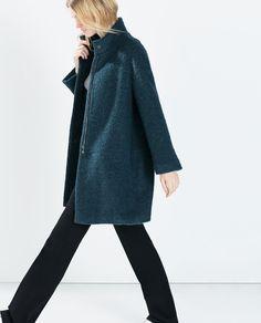 MOHAIR COAT from Zara
