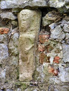 Fethard Abbey, Co. Tipperary. This image is called a sheela.