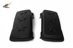 RS hard saddlebag lids army stars design for touring 1993-2013 Image