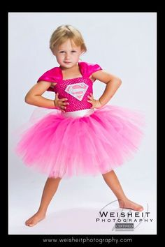 Supergirl Inspired Tutu Dress