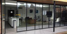 SunSeeker Doors manufactures/installs bi folding doors, slide-pivot + frameless glass doors. UK patio bifold doors since 2003, designer of UltraSlim doors.