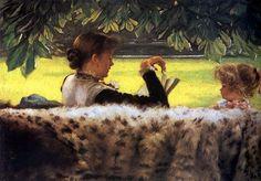 James Tissot (1836 – 1902, French)