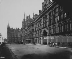 The Midland Grand Hotel at St Pancras Station, London.