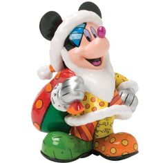 Enesco Disney by Britto Christmas Mickey Figurine, 8-1/4-Inch >>> You can get more details by clicking on the image.