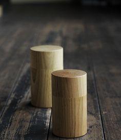 tea leaf container / chazutsu / analogue life / japanese design & artisan made housewares
