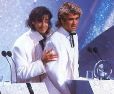 Andrew and George George Michael 80s, George Michel, Michael Love, 20th Century Music, Andrew Ridgeley, True Legend, Love Band, Rock Legends, Day Of My Life