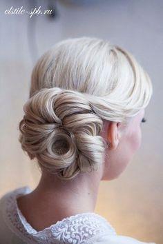 Bridesmaid hair - wedding Hairstyle