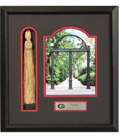 uga tassel holder with arch