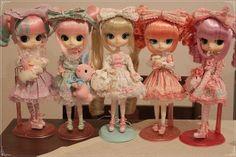 Angelic Pretty Lolita Power *-* - Byul Sucre, Dal Joujou, Dal Chanti, Dal Maretti, Byul Cocotte by Kim-kun, via Flickr    overloading on cute