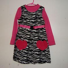 SALE!! NEW size 6 zebra dress $12.00