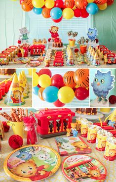 It'll be a beautiful day in the neighborhood if you use our Daniel Tiger party guide to plan your little one's birthday bash! Birthday Box, 1st Boy Birthday, 4th Birthday Parties, Birthday Ideas, Birthday Photos, Birthday Cakes, Daniel Tiger Birthday Cake, Daniel Tiger Party, Daniel Tiger Cake