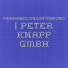 Verhandlungsführung | Peter Knapp GmbH
